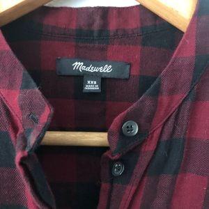 Madewell Tops - MADEWELL Buffalo Check Peplum Button Down Top